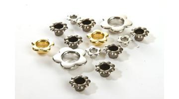 Occhielli in metallo particolari fiore per calzature sportive