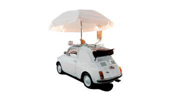Fiat 500 allestita a negozio viaggiante - versione engine