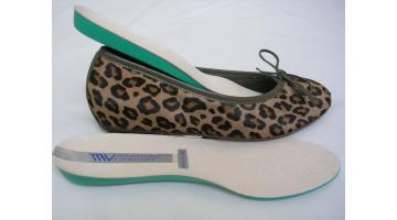 Removable anatomic insole
