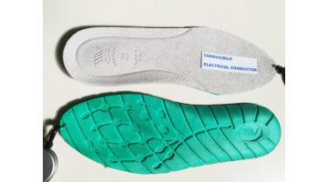 Sottopiedi conducibili per scarpe da lavoro
