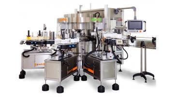 Macchine etichettatrici rotative modulari