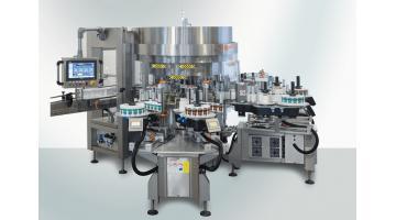 Macchine modulari per etichettatura tipo rotativo