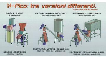 Pellettizzatrice per auto produzione