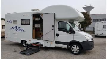 Camper per disabili con allestimenti personalizzati