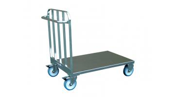 Stainless steel trolley flatbed