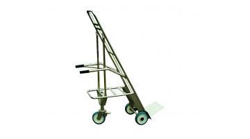 Tricicletta inox per trasporto cassette