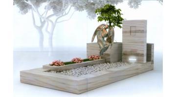 Monumenti cimiteriali in pietra naturale