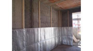 Isolamento di muri a cassetta