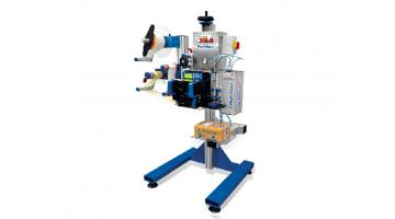 Print and apply labeler