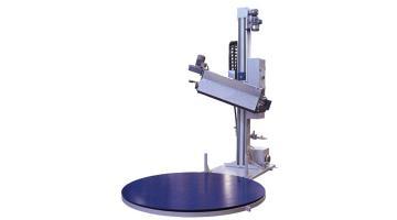 Sistema di termoretrazione a tavola rotante