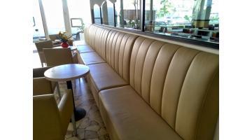 Panche imbottite per ristoranti pandi for Panche imbottite