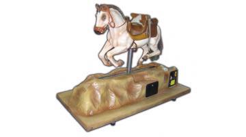 Electro-mechanical tour horse