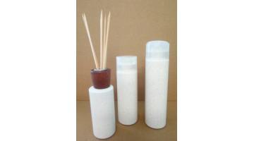 Packaging cosmetico effetto legno