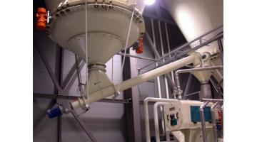 Estrattore vibrante per silos