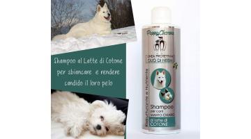 Shampoo per cani manto chiaro all'olio di neem