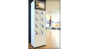 charger lockers for gyms