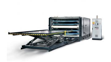Forni di laminazione vetro per grossi spessori Lammy System 4+4
