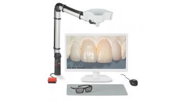 Video microscopio per odontotecnica