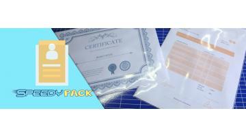Rotolo di film  plastico proteggi documenti