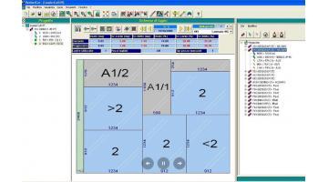 Software per la gestione del magazzino di avanzi riutilizzabili Perfect Loader Cut Off