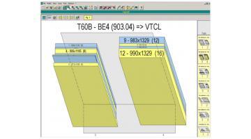 Software per la gestione dei cavalletti di taglio Perfect Rack Cut