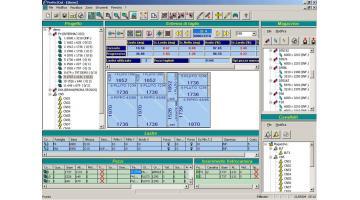Software per ottimizzazione taglio lastre di vetro