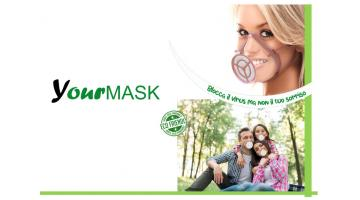 Transparent protective mask