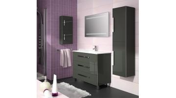 Compositions bathroom furniture lacquered