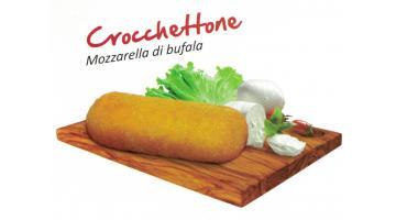 Crocchetta di patate con mozzarella di bufala