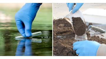 Campionamenti e analisi acque, terreni e sedimenti