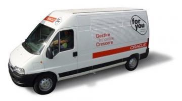 Stampa digitale pubblicitaria su furgoni