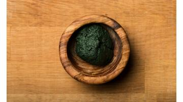 Alga Spirulina fresca biologica