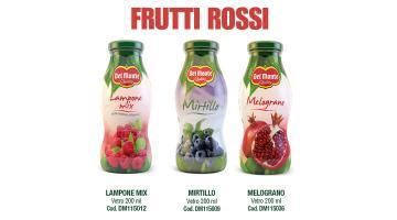 Succhi di frutta rossi