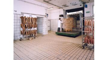 Pavimenti in klinker per industria lavorazione carne