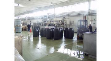 Pavimento per industria alimentare