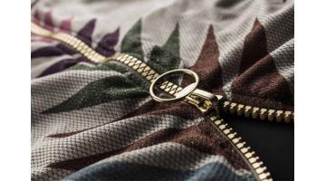 Cerniere lampo pressofuse per abbigliamento