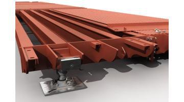 Pesa a ponte modulare in metallo