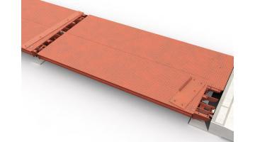 Pesa a ponte in metallo struttura modulare