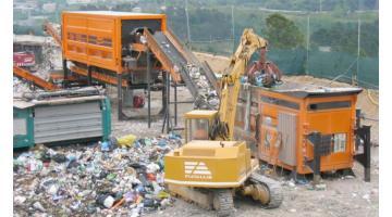 Servizio mobile per trattamento rifiuti