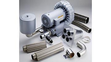 Sistema AirKnife completo per asciugatura industriale