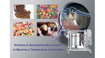 Sistema di spruzzatura in bassina a temperatura controllata