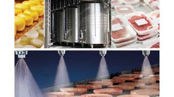 Sistemi di spruzzatura per industria alimentare