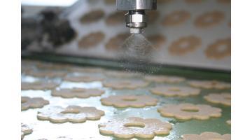 Ugelli di spruzzatura per industria alimentare