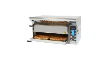 Electric oven for 4 pizzas without chimney