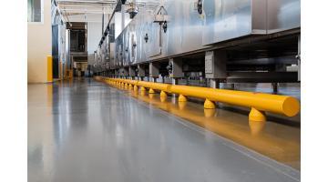 Guardrail protezione area produzione