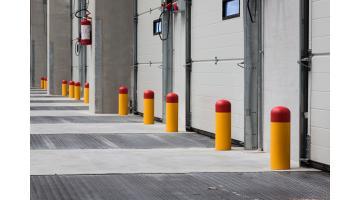Protezioni industriali per baia di carico