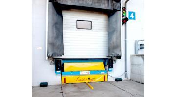 Sistema ottico ausilio parcheggio baia di carico