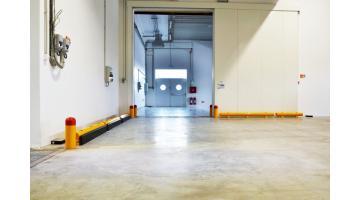 Guardrail paracolpi per protezione porta