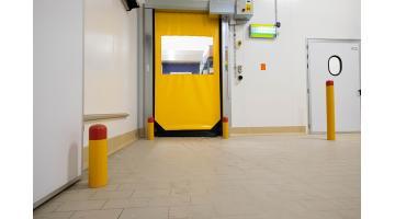 Sistemi di protezione per porte industriali
