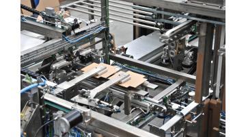 Confezionamento automatico scatole